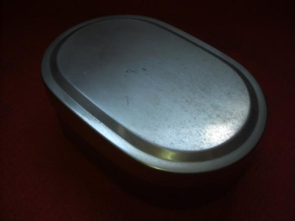 Retro lunch box (side dish Put box side dishes partition container included)