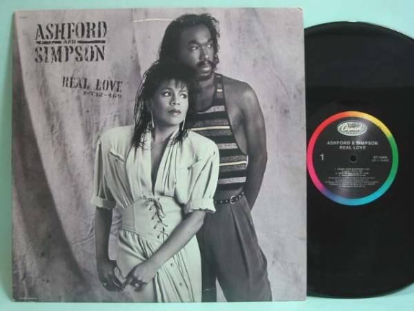 □試聴□Ashford & Simpson - Real Love/US Press□_画像1