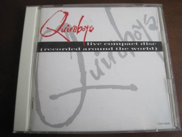 国内盤CD Quireboys クワイアボーイズ Live ライヴ_画像1