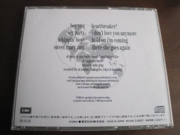 国内盤CD Quireboys クワイアボーイズ Live ライヴ_画像2