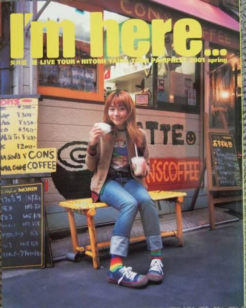 矢井田瞳 LIVE TOUR I'm here 2001 パンフレット