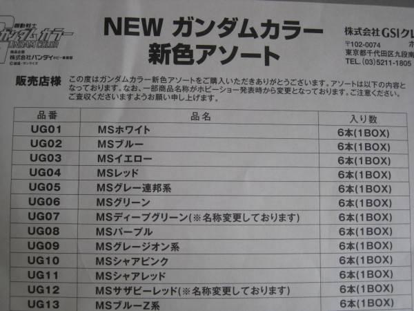 送料220円◆ガンダムカラー【ホビー用・1本189円】_画像3
