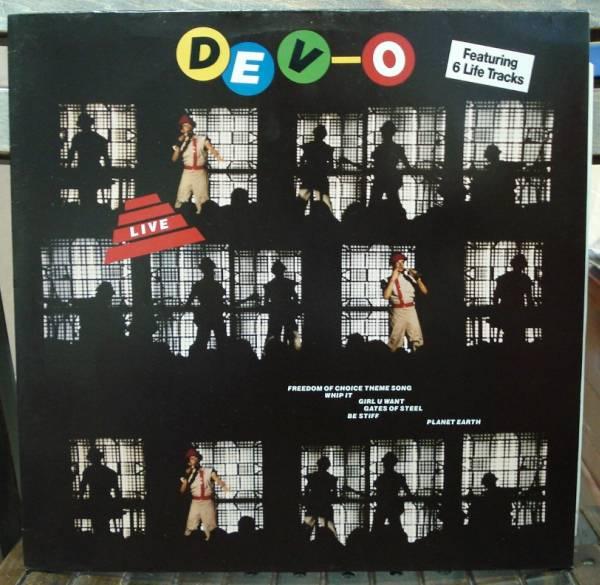 ディーヴォ DEVO/DEVO LIVE(LP,ドイツ盤)_画像1