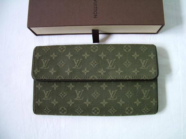 ◆【本物・美品】ヴィトンモノグラムミニ 3つ折り長財布