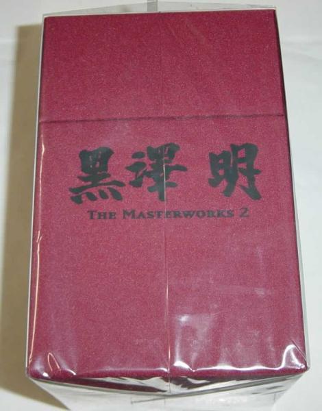 黒澤明 THE MASTERWORKS 2 DVD-BOX 限定 未開封_画像3