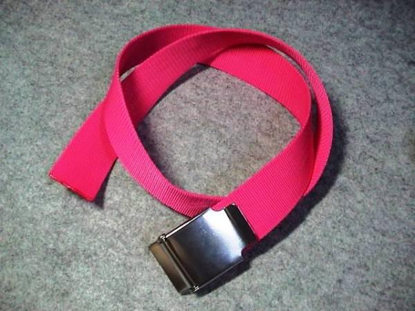 *格安!ウエイトベルト&バックル130cm ピンク 送料¥164(^^)v♪k_画像1
