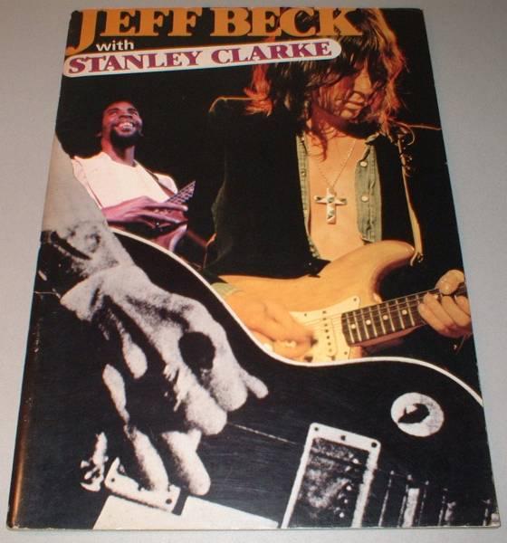 パンフ ジェフ・ベック [IN JAPAN '78]JEFF BECK STANLEY CLARKE