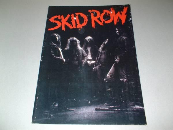 スキッド・ロウ パンフ [IN JAPAN '89] SKID ROW