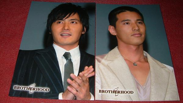 非売品!BROTHERHOODウォンビンチャンドンゴン ポストカード2枚⑦
