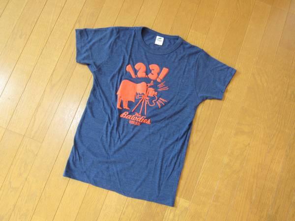 THE BAWDIES★ザ・ボウディーズ 1-2-3Tour 2013 Tシャツ 美品 ライブグッズの画像