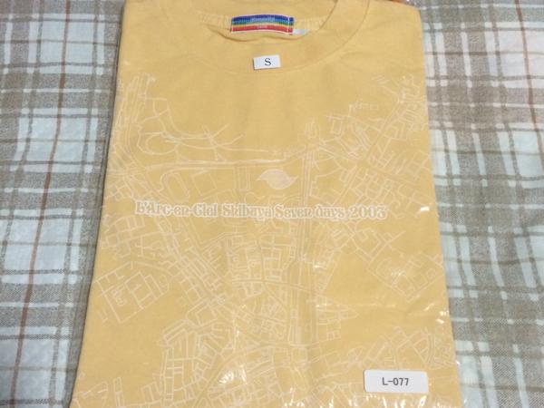 新品?? L'Arc-en-Ciel ラルク Shibuya Seven days 2003 Tシャツ