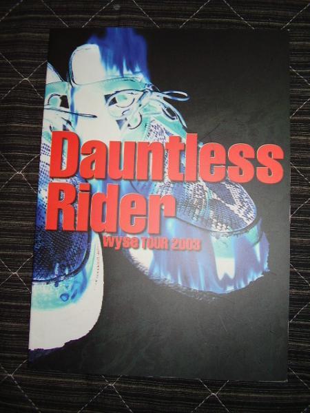 即決Wyse 2003年ツアーパンフ「Dauntl~」ワイズ