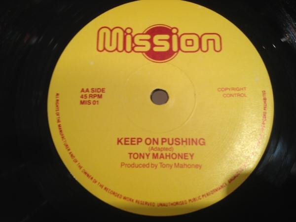 ■Tony Mahoney/Keep On Pushing■KILLER DIGI ROOTS!_画像1