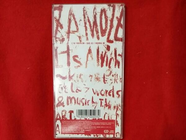 8cm CD ★ ZA MOZZ/ It's Alright ~Kiss でも決め恋をしよう_画像2