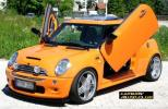 02UP ミニクーパー S ガルウイングキット ミニ R53 R55 R56 LSD ランボドア 外装カスタム エアロ