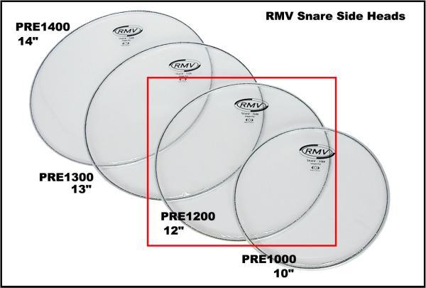 ・RMV 12 Snare side head ネットでお探しの方いかが?  特価、即決です!PRE1200_画像2