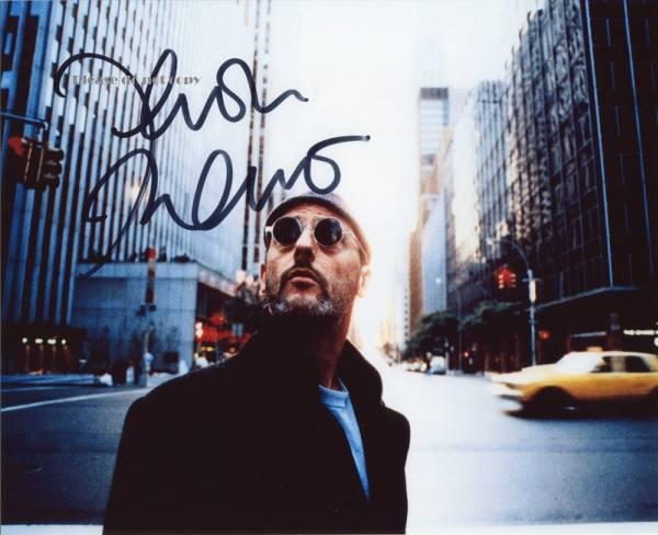 1994年映画 レオン Jean Reno ジャン・レノ サイン 入り 写真
