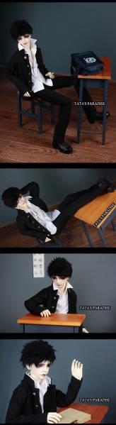 【N・TA】 MSD、SD、SD13、SD17少年用学生服 ☆3点セット☆_画像2