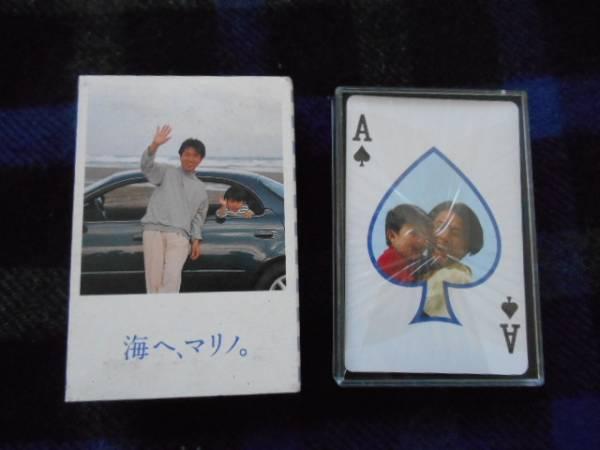 トヨタ マリノ 非売品 トランプ 藤井フミヤ 田24A_画像1