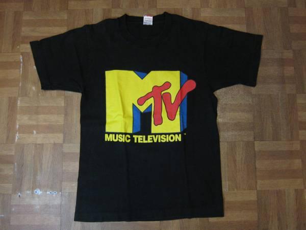 80's 90's MTV Tシャツ ビンテージ 音楽 ロック バンド USA製