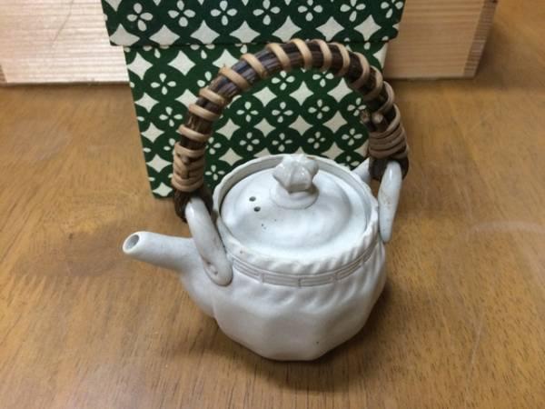 煎茶道具 土瓶 万古木型土瓶 静香
