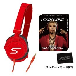 ☆EXILE TRIBE PERFECT YEAR SHOKICHI HEAD PHONE☆