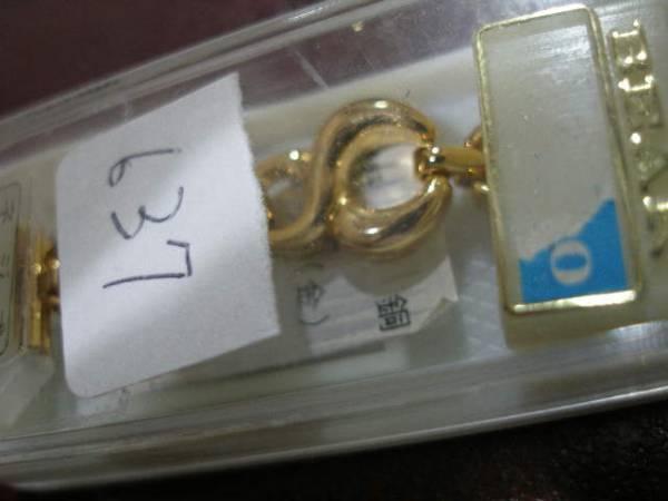 マルマン製本物金メッキ使用ゴールド☆新品10mm~11mm637ハート_画像3