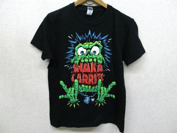 SHAKALABBITS 釈迦兎寄合 オフィシャルTシャツ黒St6717