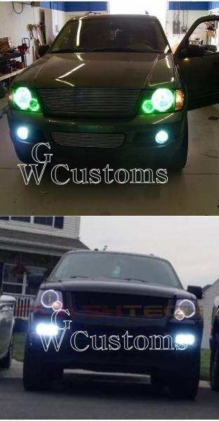 フォード エクスプローラー LEDエンジェルライト イカリング SMD ヘッドライトリング 高品質 米国製 CCFL エアロ_画像2