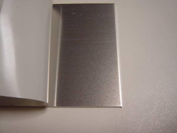 5052 アルミ板 厚み2㎜ 希望のサイズ見積もりします_アルミ板2mm両面保護シート貼り