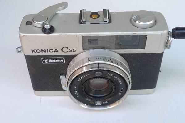 中古★:KONICA C 35 flashmatic ジャンク扱い [Z-192]_画像1