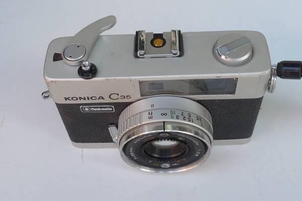 中古★:KONICA C 35 flashmatic ジャンク扱い [Z-192]_画像3