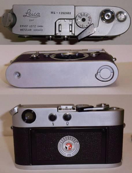 【免税店 東京 質屋おぢさん】 アンティーク カメラ ライカ Leica M4 ズミクロン 35mm CANADA_画像2