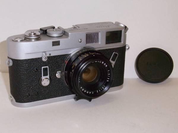 【免税店 東京 質屋おぢさん】 アンティーク カメラ ライカ Leica M4 ズミクロン 35mm CANADA_画像1