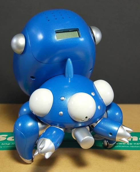 レア! 攻殻機動隊 タチコマ目覚まし時計 フィギュア 人形 ゴーストインザシェル