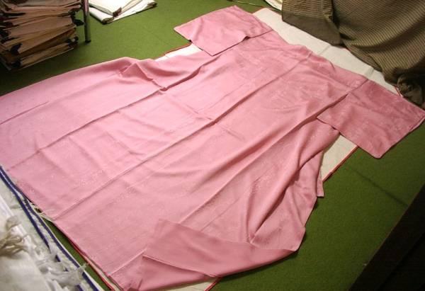 ▼ ★ distillate ★ silk-luxury color plain-clothes [unused Tatsu涌 (seven-week mourning period Tsutamon)] total length 156cm