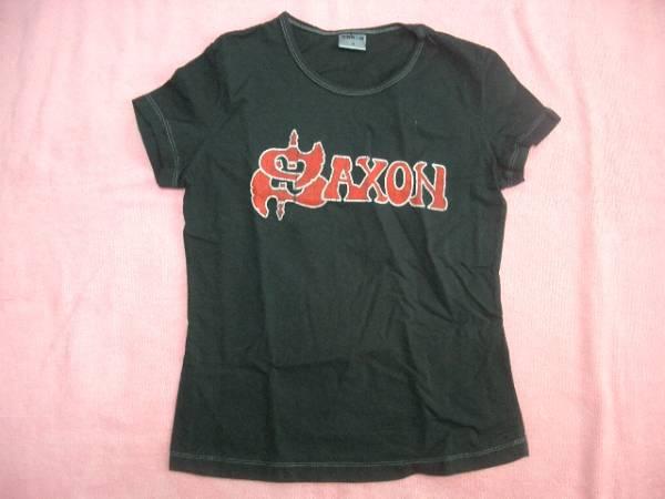 SAXON サクソン ロックT バンドT 女性用 S Tシャツ NWOBHM