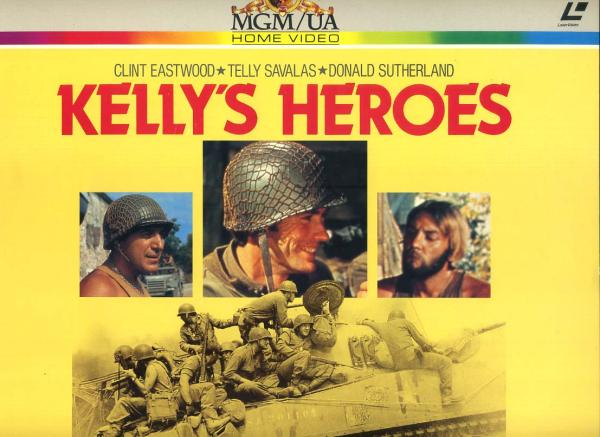 LD二枚組み『KEILY'S HEROES』「戦略大作戦」d46_画像1