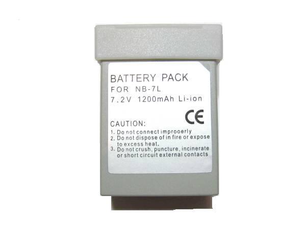 即決◆NB-7L◆互換バッテリー◆PowerShot G11/G10/G12/SX30 IS