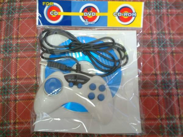 コンピューター ゲーム DivX ゲーム CD ジョイスティック_外側のビニールの袋違うものあります。