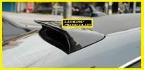 Audi アウディ A4 B8 S4 カーボンルーフスポイラー エアロ ウイング リアルカ-ボン綾織り 外装カスタム