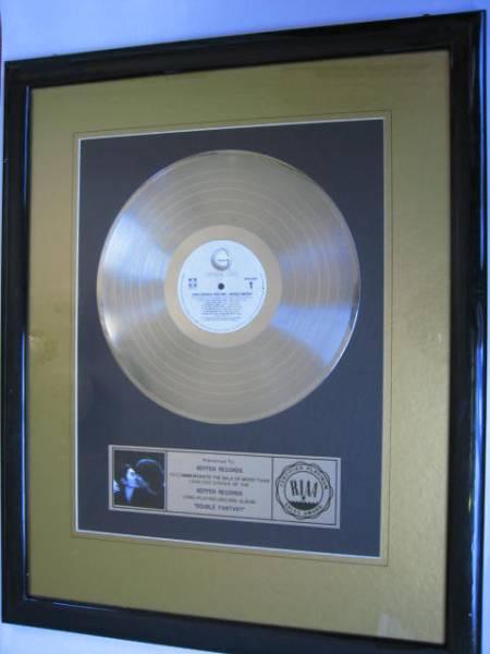 ★ジョン・レノン RIAA[プラチナ・ディスク] 送料無料!貴重!即決!