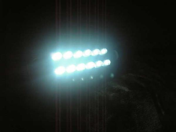 GSX1300R 隼ハヤブサ用LEDナンバー灯ユニット(LEDナンバー灯化用商品)_画像1