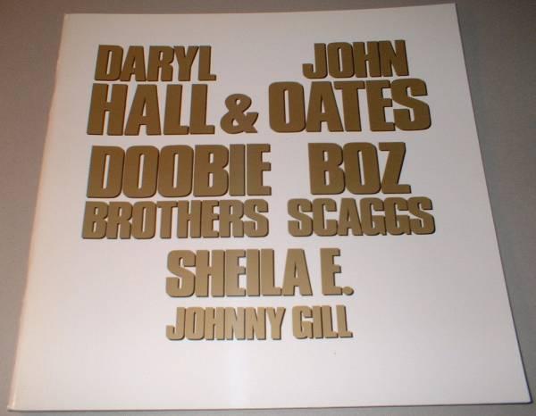 パンフ HALL&OATES DOOBIE BROTHERS BOZ SCAGGS[KIRIN GIGS '90]