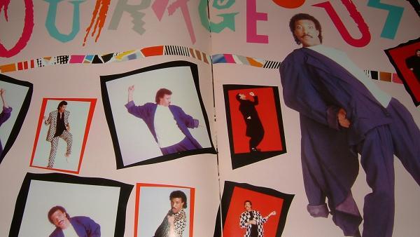【パンフレット】 ライオネル・リッチー1987 JAPAN TOUR
