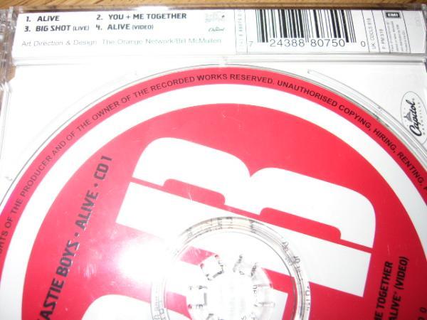 BEASTIE BOYS 輸入盤CDS「ALIVE」①_画像2