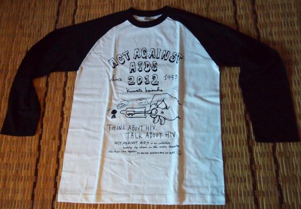 ★【桑田佳祐 × Act Against AIDS】 2012 ラグランTシャツ新品