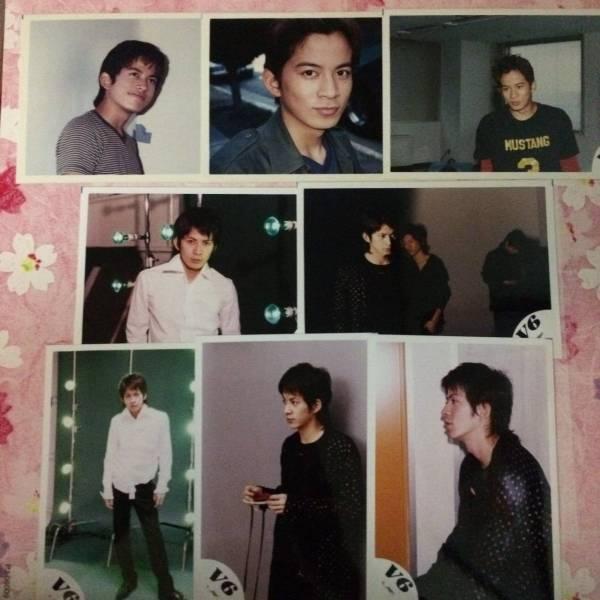 ☆V6☆岡田准一☆公式写真☆ショップ写真 8枚☆02 コンサートグッズの画像