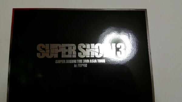 SUPER JUNIOR DVD SUPER SHOW3 in JAPAN スーパージュニア ライブグッズの画像