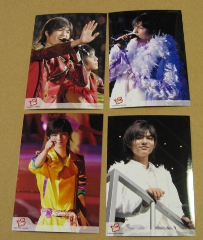 薮宏太 ライブ 写真4枚 Hey! Say! JUMP Web限定 Spring2008